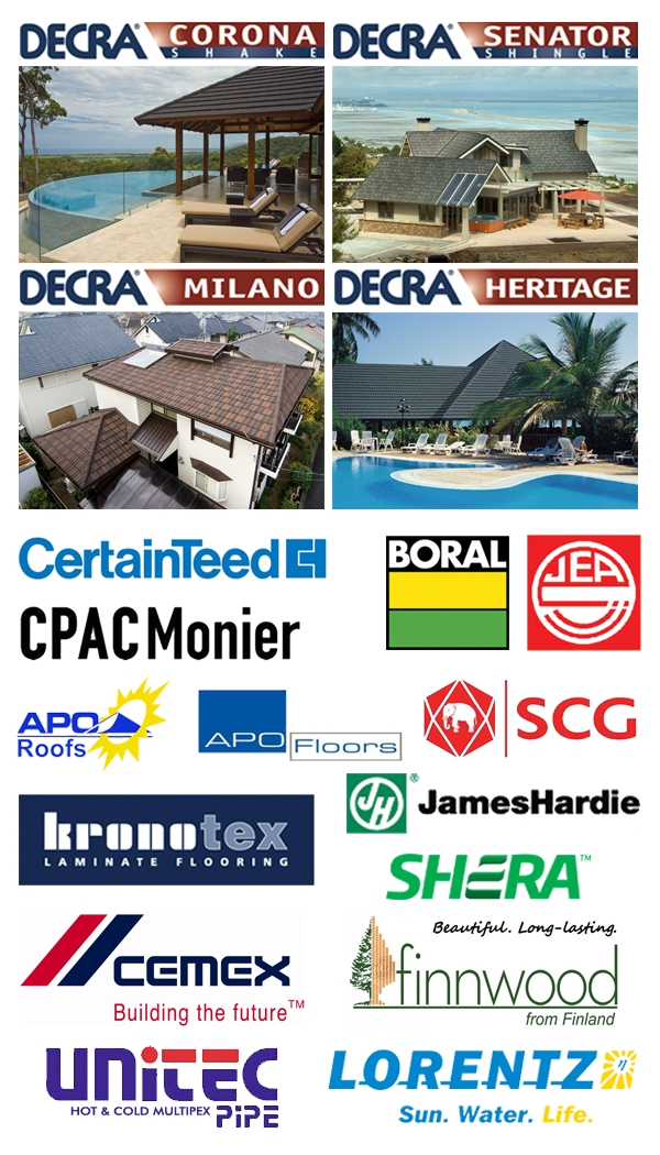 Promoting Decra Stone Coated Roofing In The Philippines